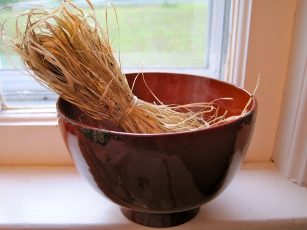 Bowl Of Kudzu Fiber
